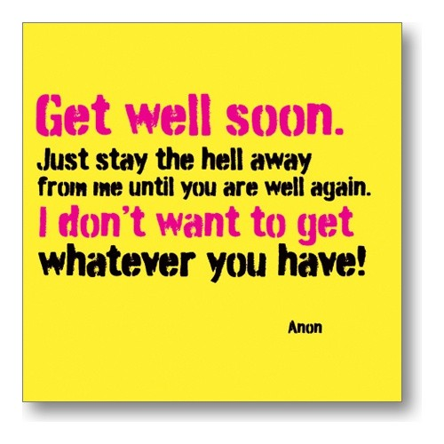 Get Well Soon Quote Picture Quote #1