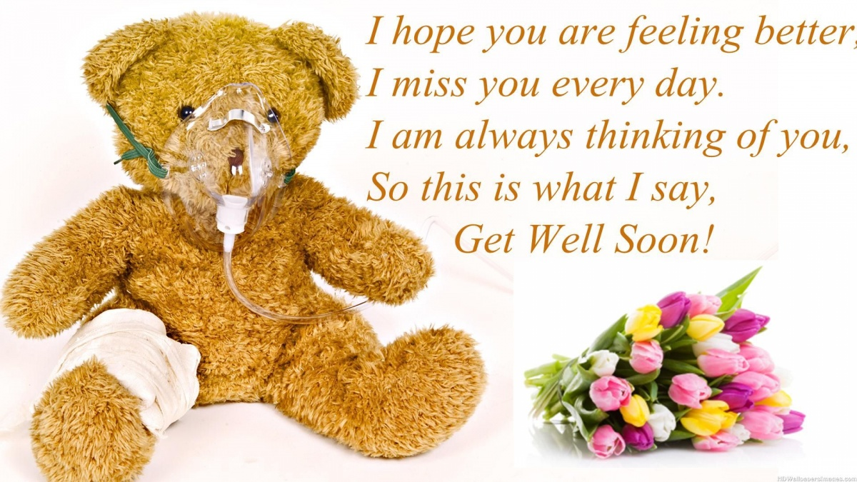 Feel Better Soon Quotes Get Well Soon Quote  Quote Number 545139  Picture Quotes