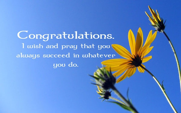 Congratulations Quote Picture Quote #1