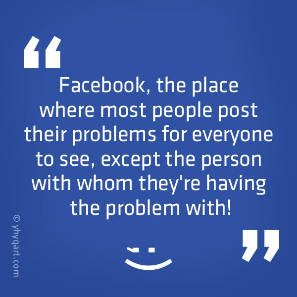 Funny Facebook Quote Picture Quote #1