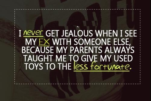 Jealous Quote Picture Quote #1