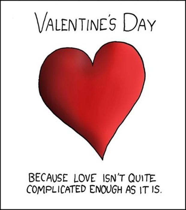 Funny Valentines Day Quote Picture Quote #1