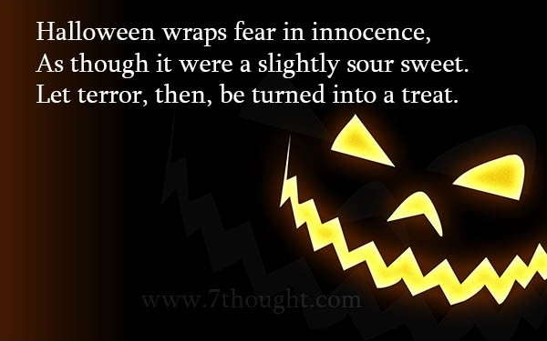 Halloween Quote Picture Quote #1