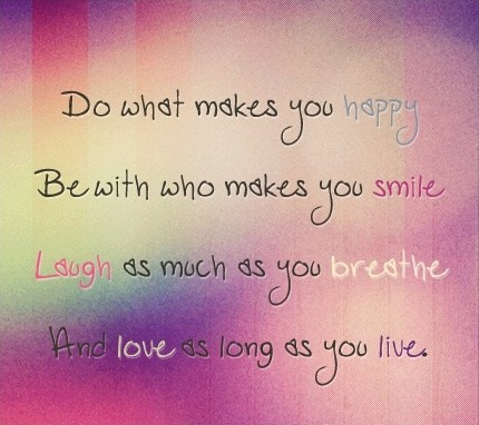 Be Happy Quote Picture Quote #1