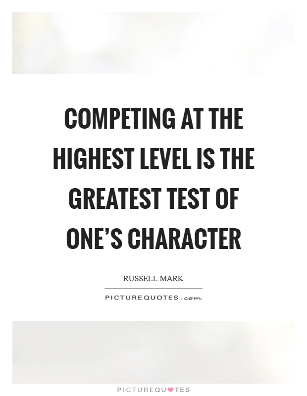 which character exhibits the highest degree The character attributes of courage and passion best represent this factor  that  exhibits how compassion for employees takes precedence to work demands:   a leader's passion can make a significant difference in the degree to which she.