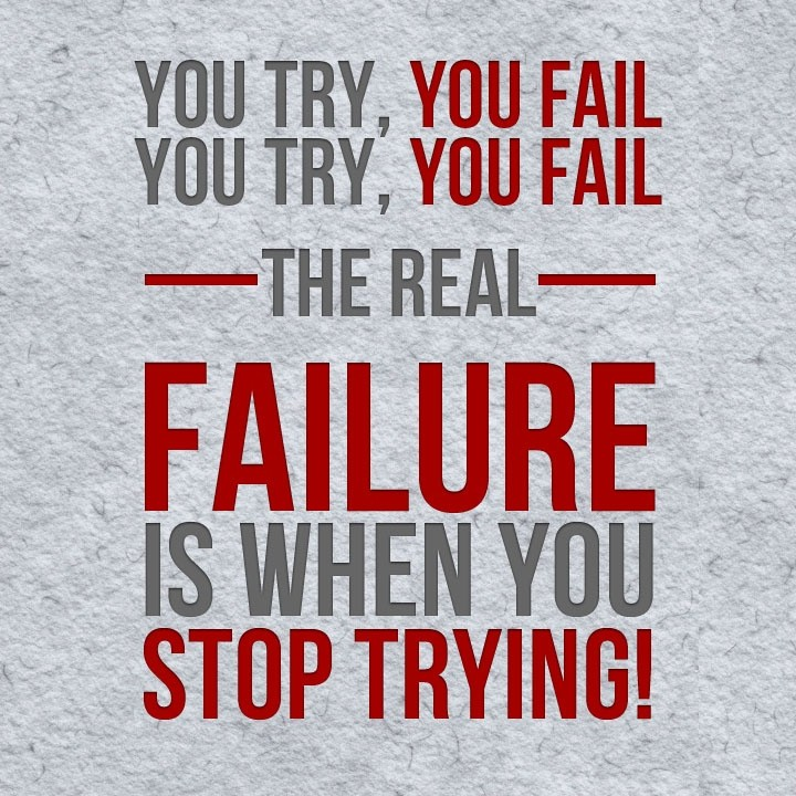 Inspirational Quotes About Failure: Failure Picture Quotes