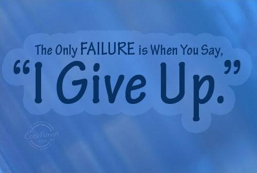 Failure Quote Picture Quote #1