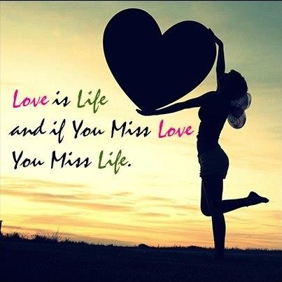 Love Life Quote Picture Quote #1