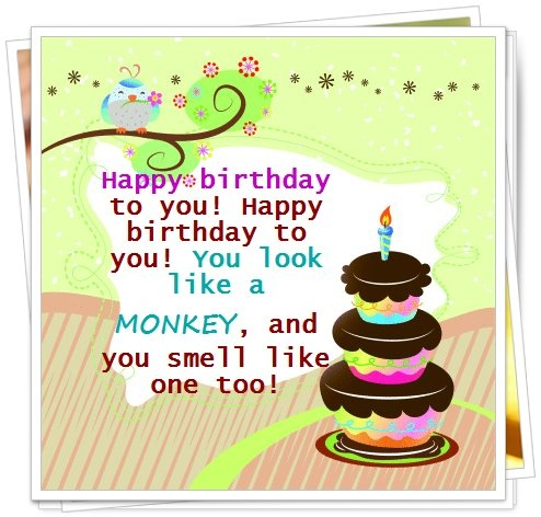 Funny Happy Birthday Quote Picture Quote #1