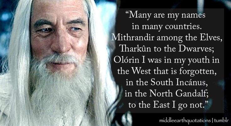 Gandalf Quote Picture Quote #1