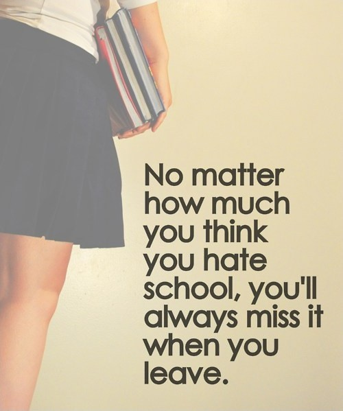 School Quote Picture Quote #1