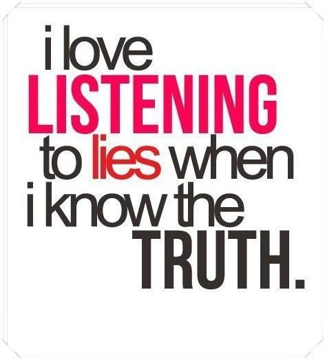 Lying Quote Picture Quote #1