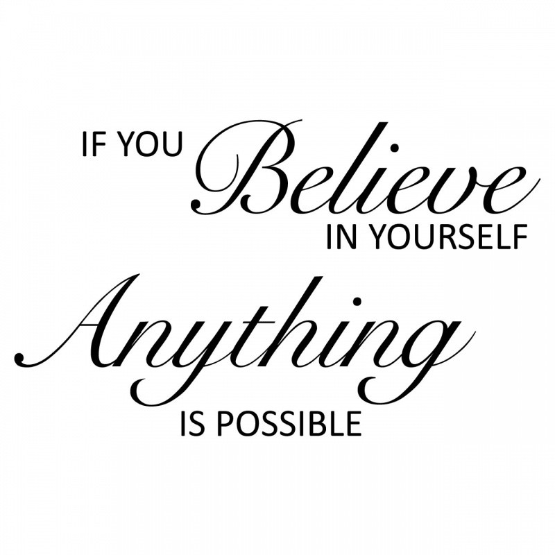 Believe Quote Picture Quote #1