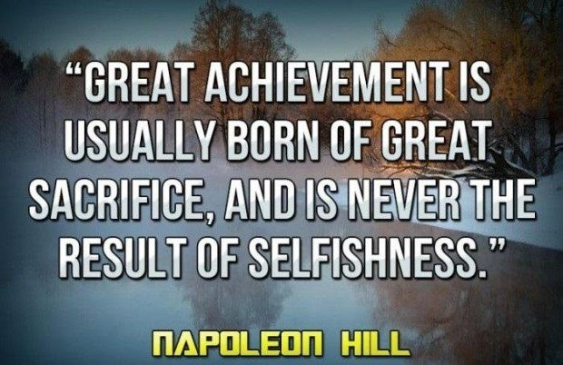 Quotes About Sacrifice Sacrifice Quote  Quote Number 547775  Picture Quotes