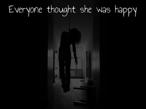 Sad Suicide Quotes Alluring Suicidal Quote  Quote Number 547916  Picture Quotes