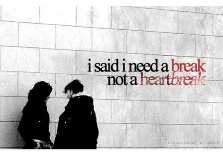 Breaking Up Quote Picture Quote #1