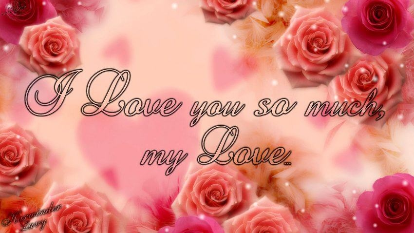 I Love You So Much Quote Picture Quote #1