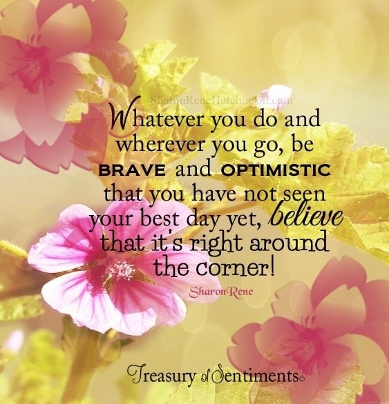 Optimistic Quote Picture Quote #1