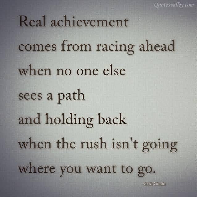 Achievement Quote Picture Quote #1