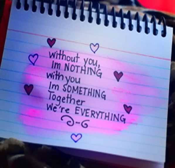Without you I'm nothing with you I'm something together we're everything Picture Quote #1