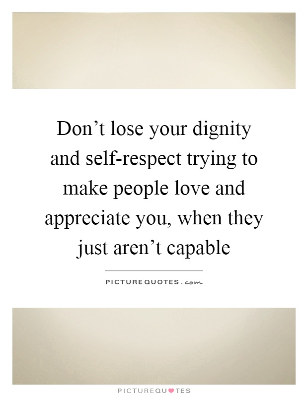 Dignified People
