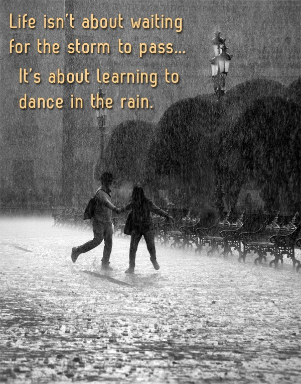 Rainy Day Quote Picture Quote #1