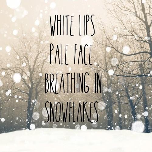 Winter Quote Picture Quote #1