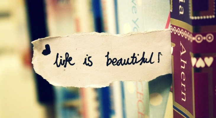 Life Is Beautiful Quote Picture Quote #1