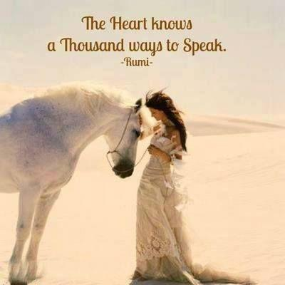 The heart knows a thousand ways to speak Picture Quote #1