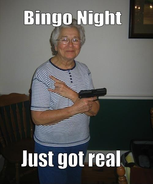 Bingo night just got real Picture Quote #1