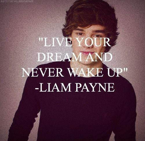 Live your dream and never wake up Picture Quote #1