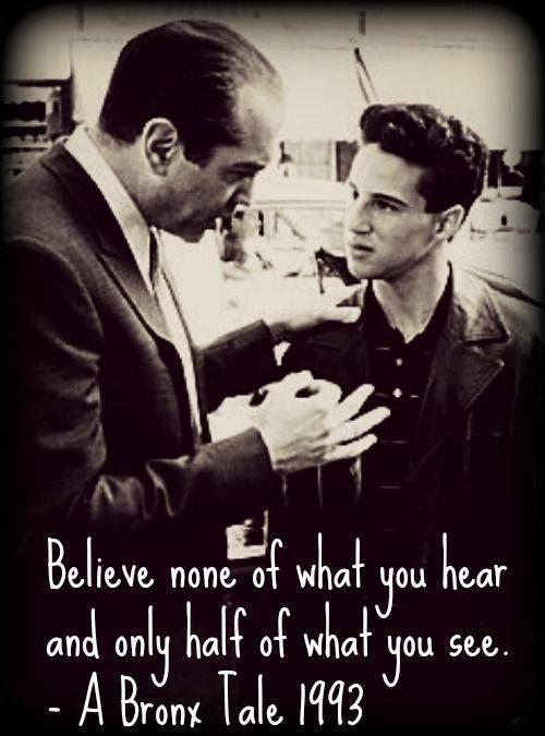 Believe none of what you hear and only half of what you see Picture Quote #1