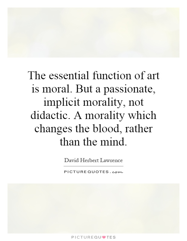 art moral passion As we've seen over and over on the art of manliness, characteristics like passion and vigor are not necessarily inherent within us.
