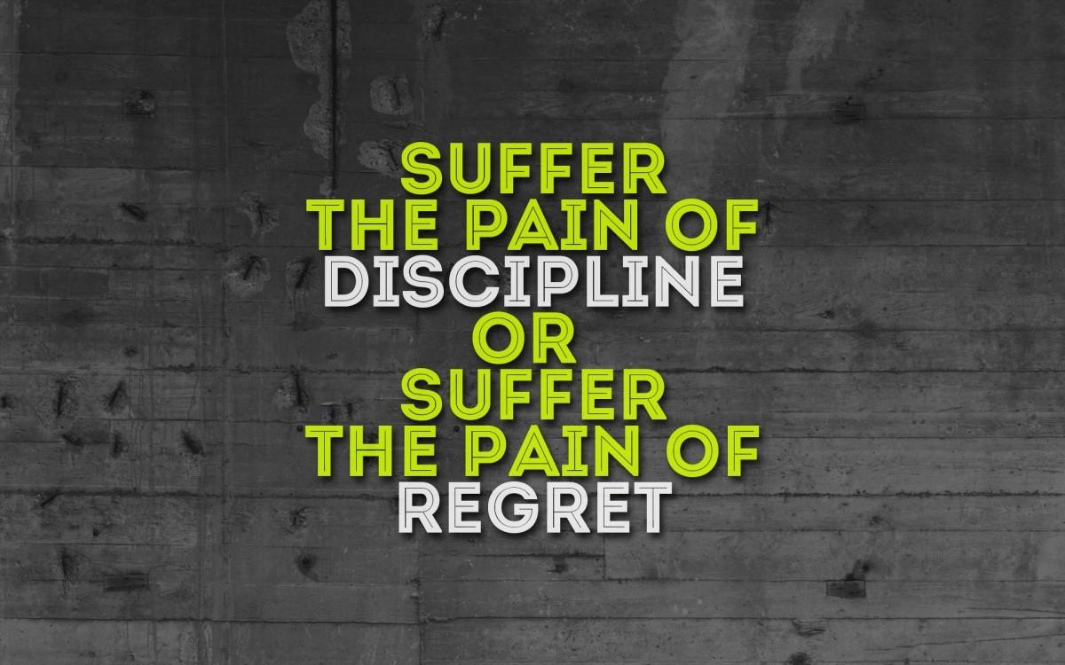 Discipline Quote Picture Quote #1
