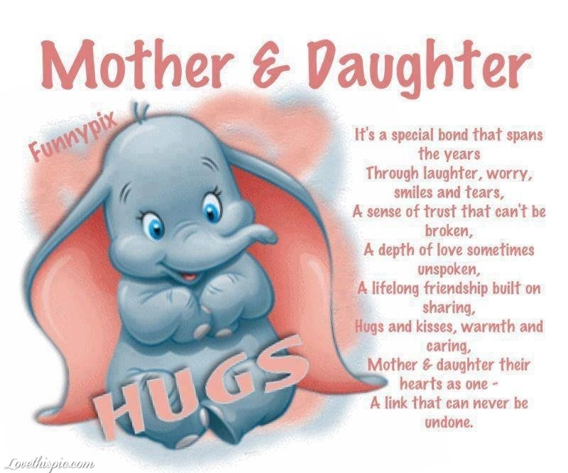 Mom And Daughter Quotes & Sayings | Mom And Daughter Picture ...