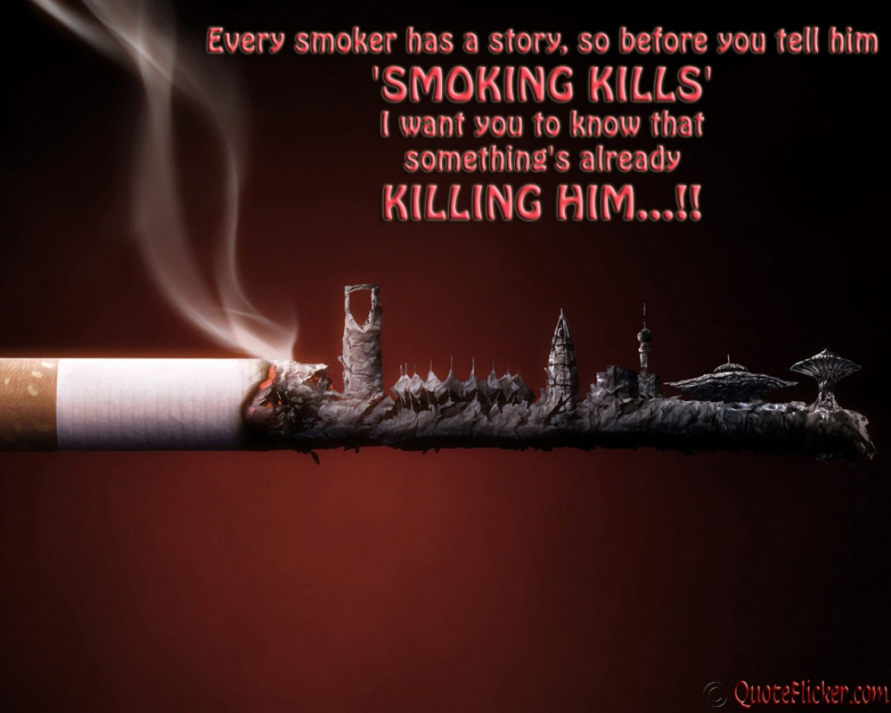 Anti Smoking Quotes Smoking Quote  Quote Number 549417  Picture Quotes