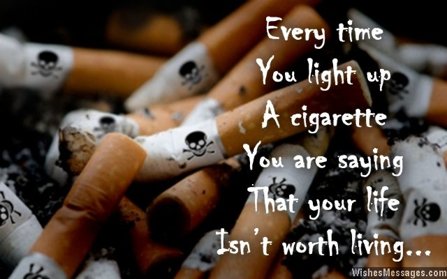Smoking Quote Picture Quote #1