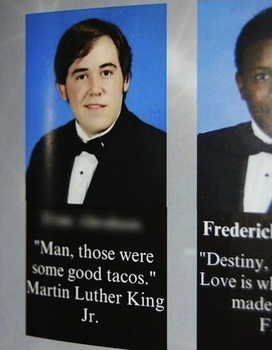 Funny Senior Quote Picture Quote #1
