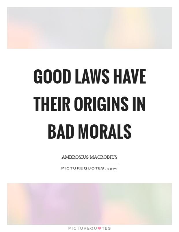 Good And Bad Morals Lifeagent