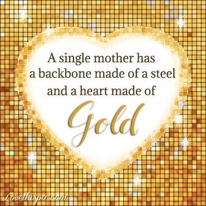 Single Mom Quote Picture Quote #1