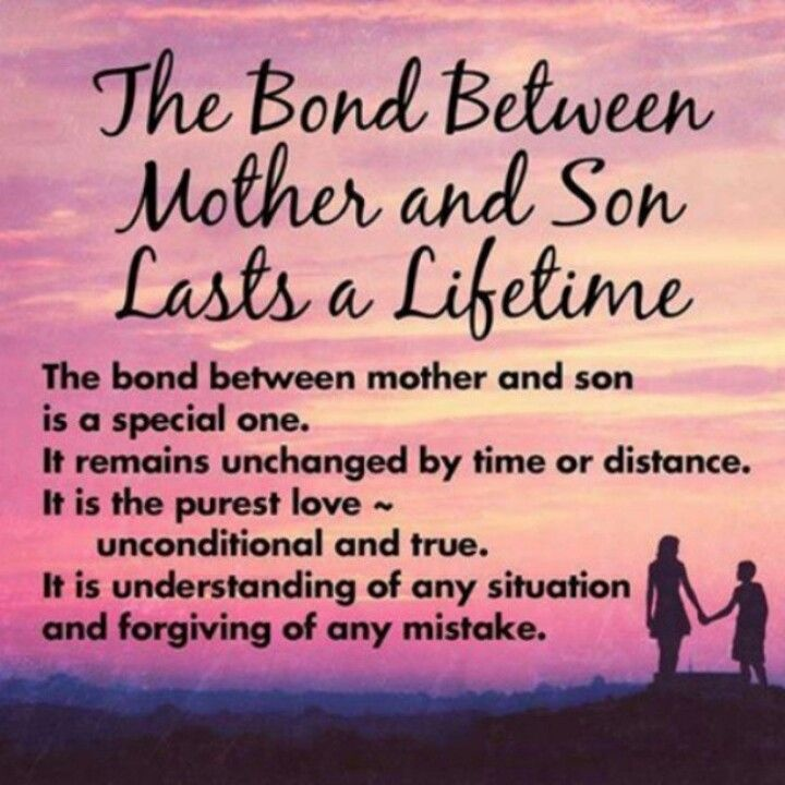 Mother And Son Quote Picture Quote #1