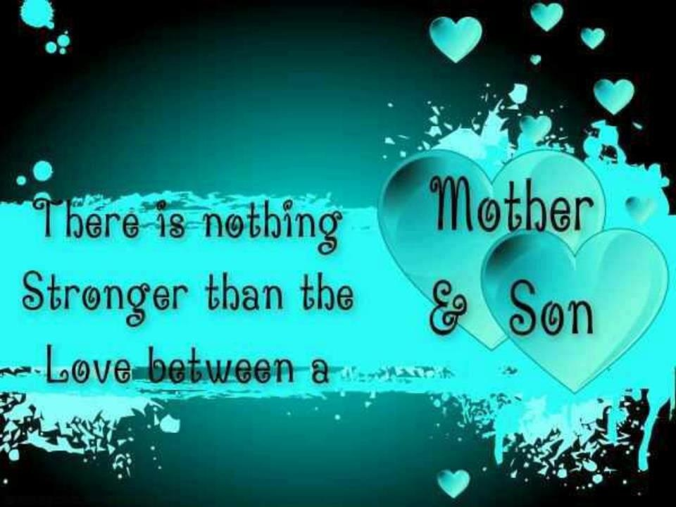Mom To Son Quotes Adorable Mom And Son Quotes & Sayings  Mom And Son Picture Quotes