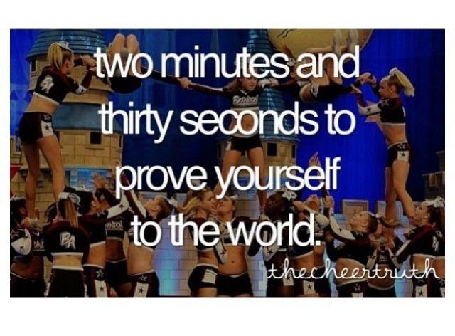 Cheerleading Quote Picture Quote #1
