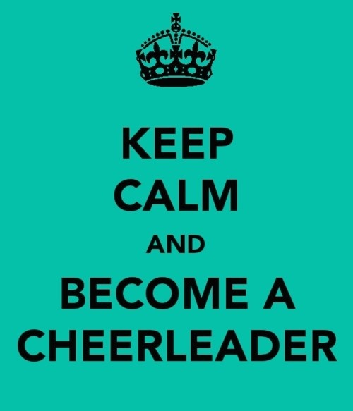 Cheerleading Quote Picture Quote #1