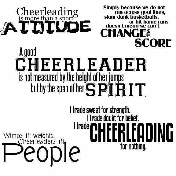 Cheerleading Quote | Quote Number 550161 | Picture Quotes