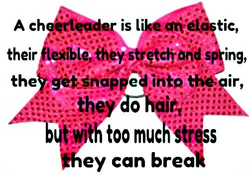 Cheerleader Quotes & Sayings | Cheerleader Picture Quotes