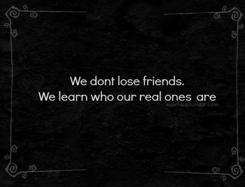 Real Friends Quote Picture Quote #1