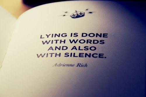 Lies Quote Picture Quote #1