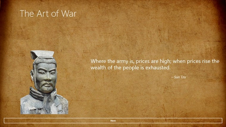 Art Of War Quote Picture Quote #1