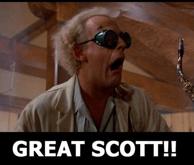 Back To The Future Movie Quote Picture Quote #1